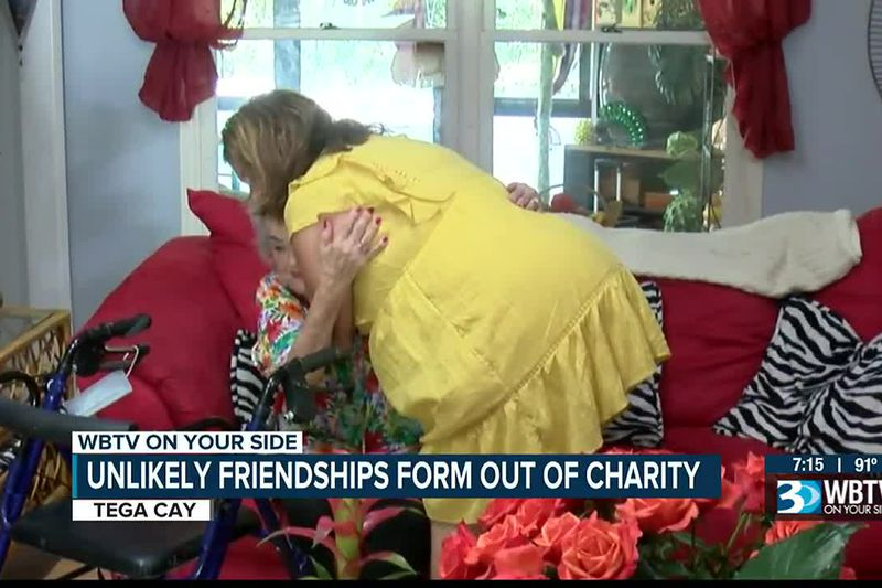 Unlikely friendships form out of charity