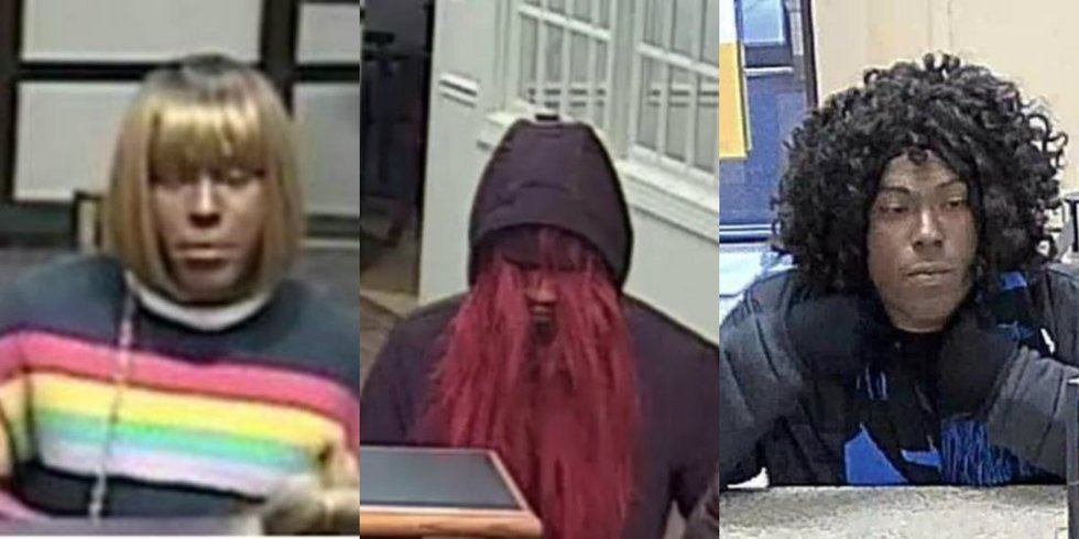 The FBI says the same suspect is believed to have robbed all three banks in the Charlotte-Metro...