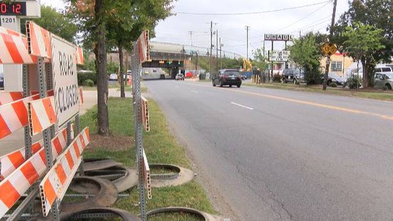 Part of N Tryon Street will be closed to address flooding concerns