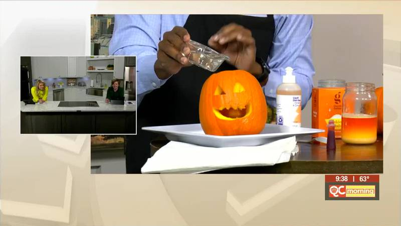 Mr. Russell's Classroom: Making A Pumpkin Volcano With J-Stace