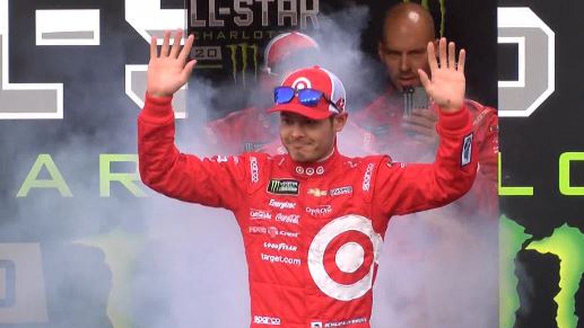 Kyle Larson intro at the 2017 All Star Race.  On Tuesday, Larson was fired from CGR for using a...