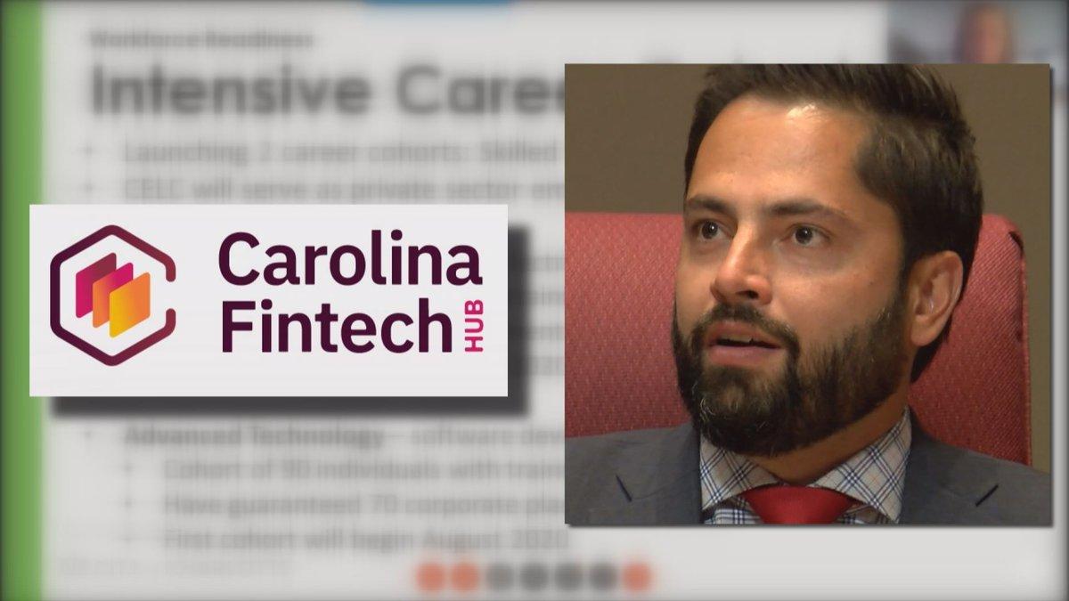 Charlotte City Councilman Tariq Bokhari is president of Carolina Fintech Hub. The organization...