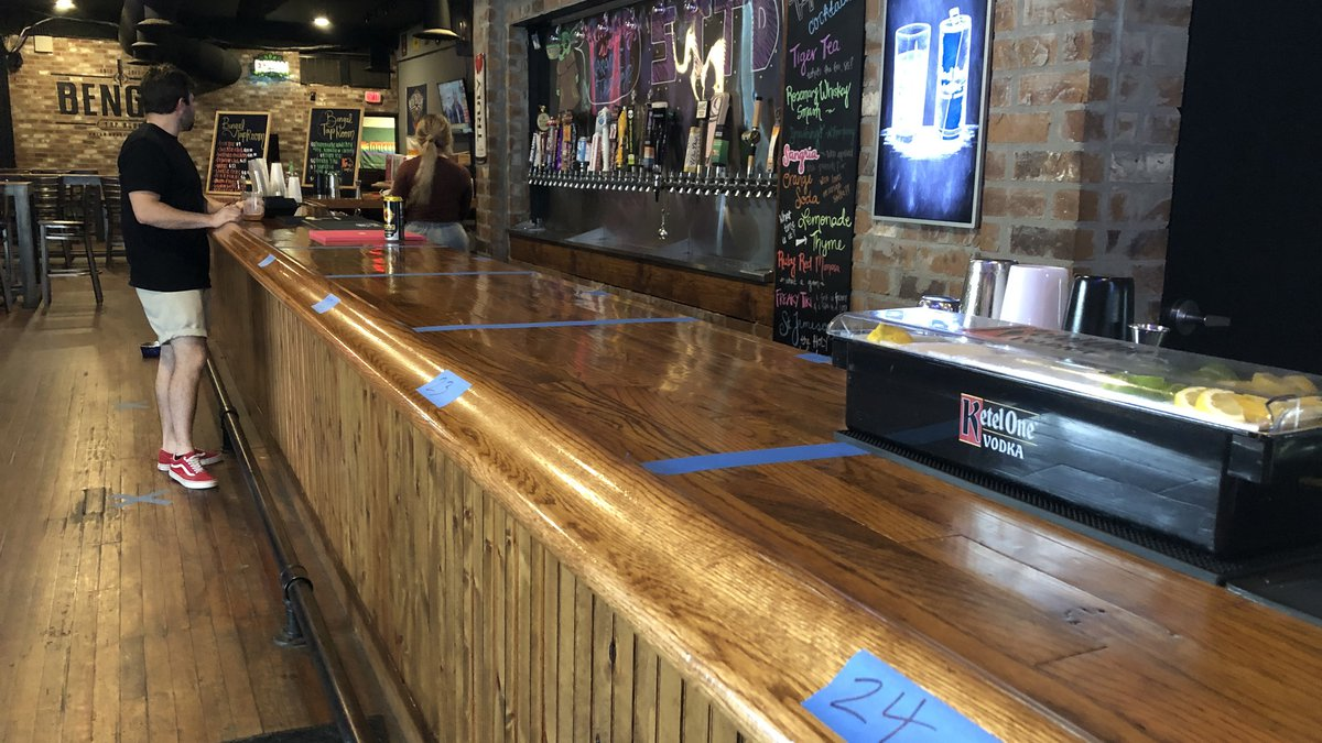 Bengal Tap Room in downtown Baton Rouge