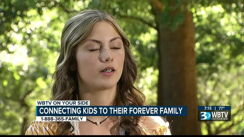 Connecting kids to their Forever Family: Maddison