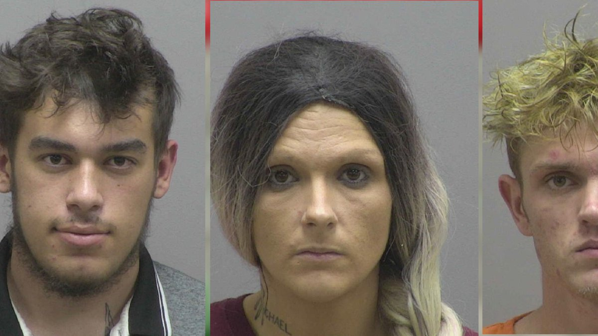Three arrested for stealing guns from Lincoln County home