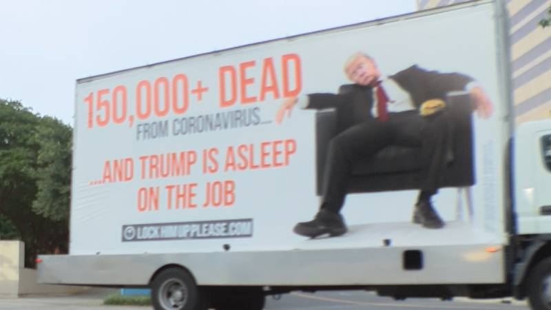 It's never been about the messages on the truck, for the driver behind the wheel. It's about...