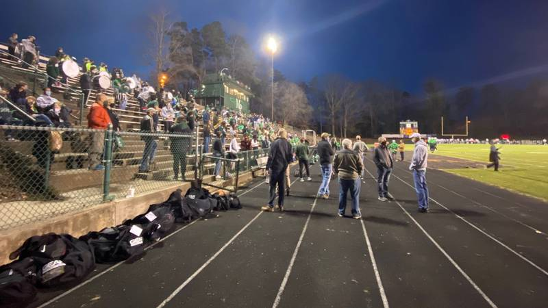 Friday, Charlotte-Mecklenburg Schools allowed hundreds more fans inside its stadiums.