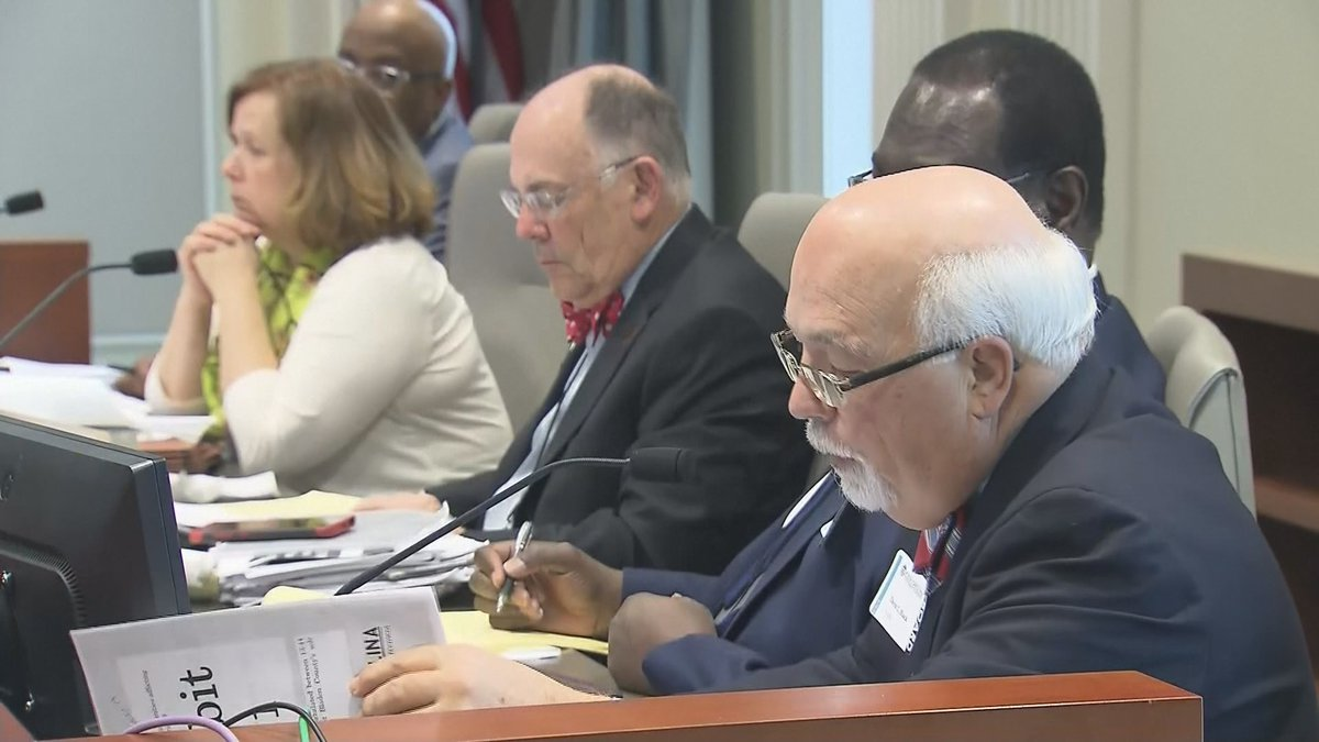 Day two of the North Carolina State Board of Elections hearing into potential election fraud in...