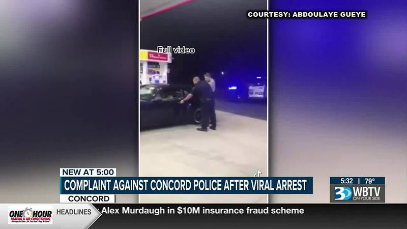 Claims of misconduct arise after video of Concord Police arrest goes viral on TikTok