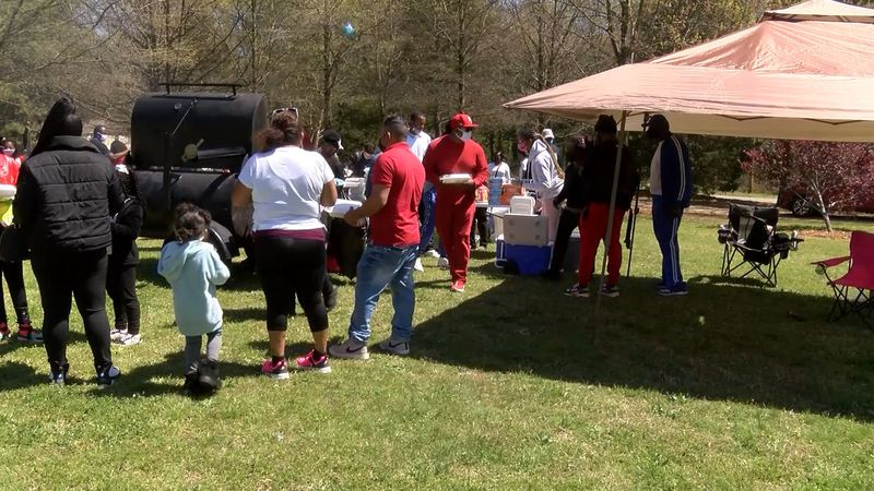 A youth Easter program was held Saturday in northwest Charlotte.