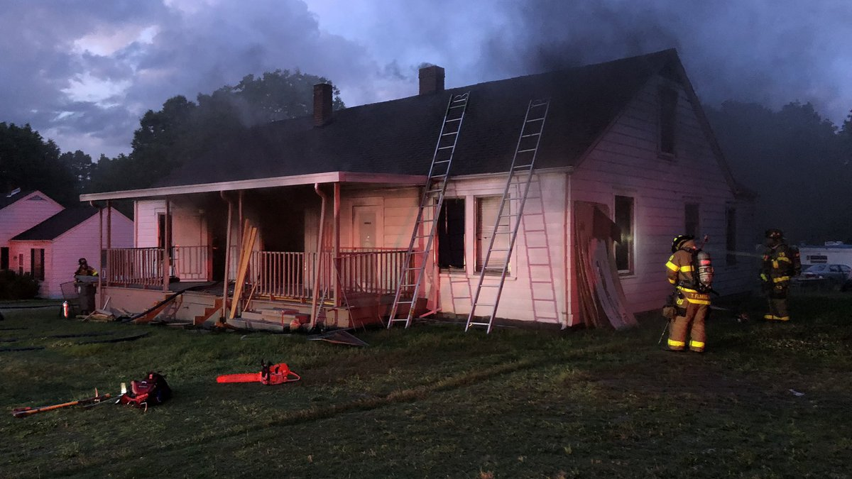 The Salisbury Fire Department responded to a fire on Old Concord Road Saturday night.