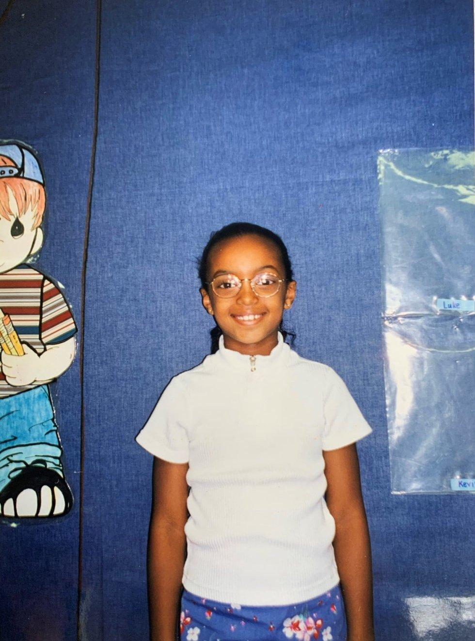 Abby Theodros ready for a new school year!