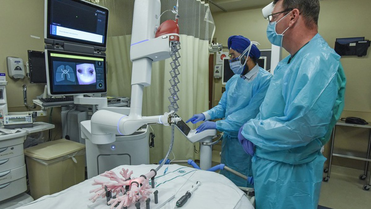 New technology available at Atrium Health is helping doctors detect lung cancers in patients.