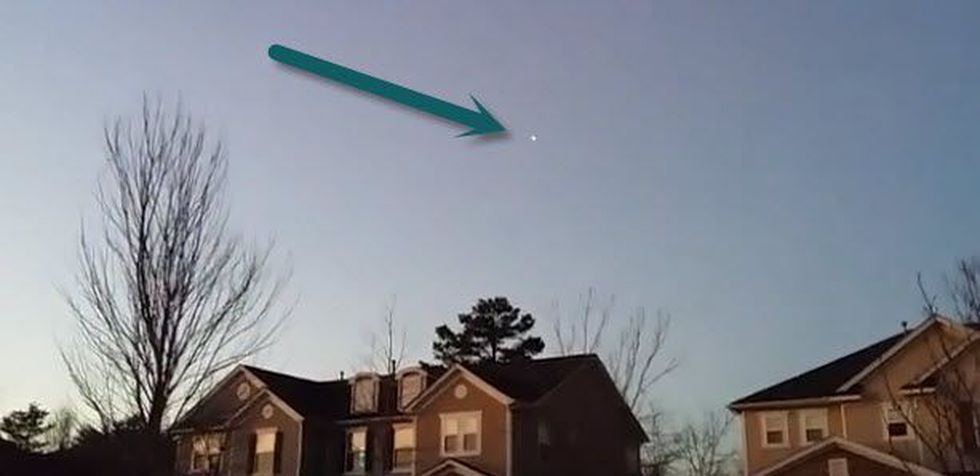 Man claims UFO was spotted in video over Fort Mill (Source: YouTube.com)