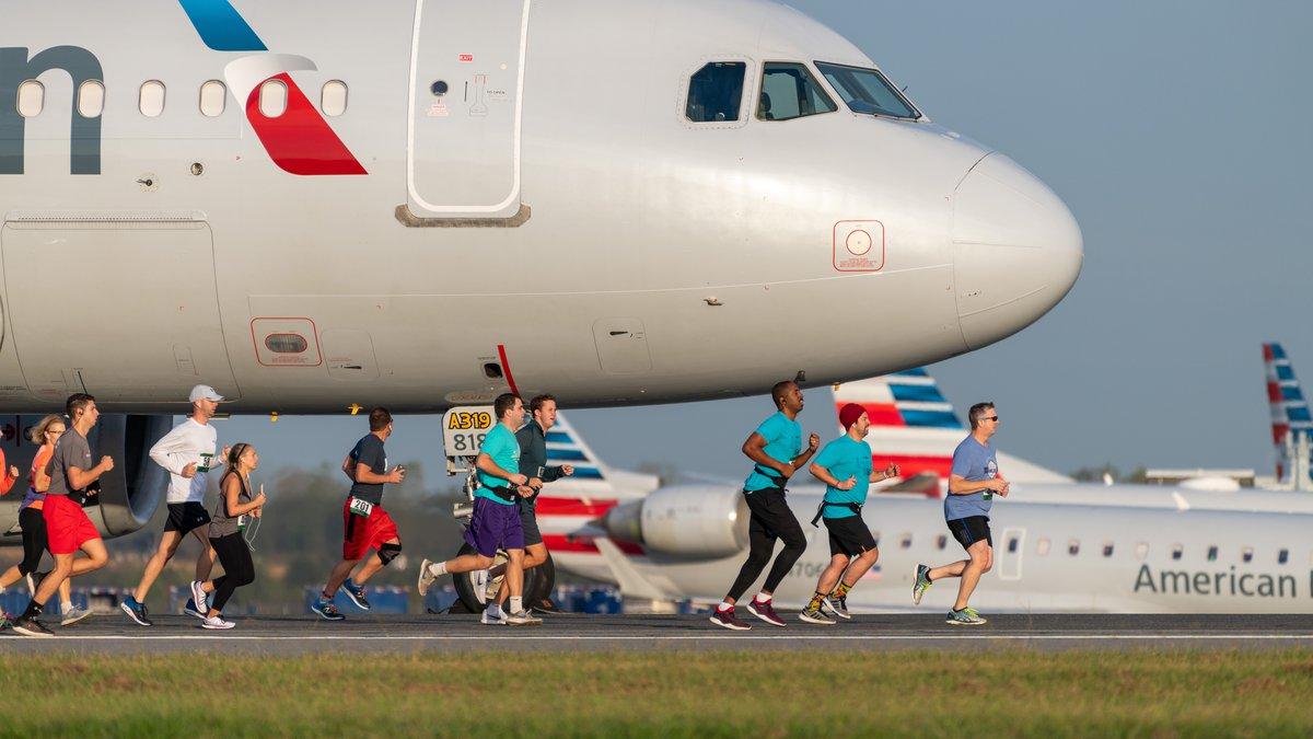 2019 Runway 5K at Charlotte Douglas International Airport