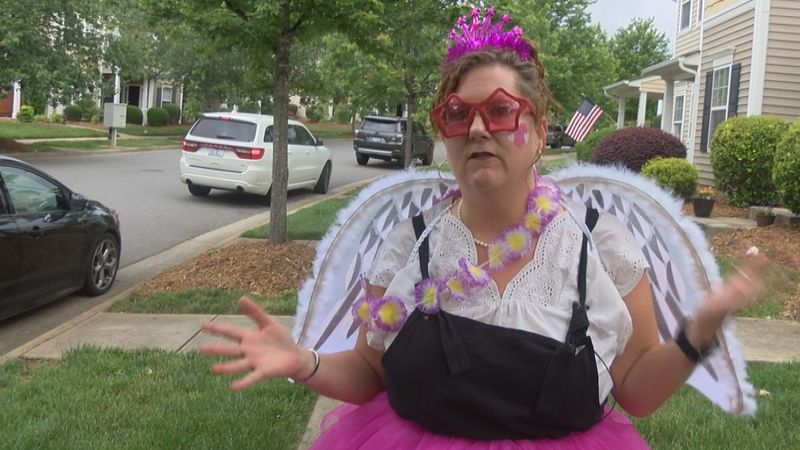 There are some people dressing up as fairies and running around your neighborhoods. You may...