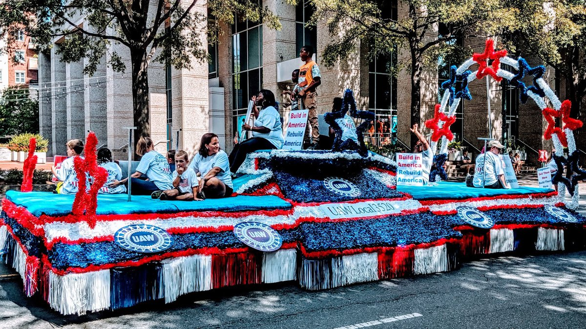 Officials say they will resume the Charlotte Labor Day Parade in 2022.  (Photo from 2019)