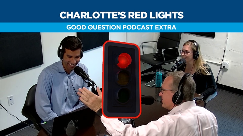 Who controls Charlotte's traffic lights?