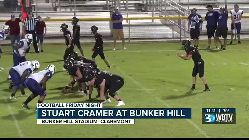 Bunker Hill starts the 2021 with a hard fought 29-18 victory of Stuart Cramer.