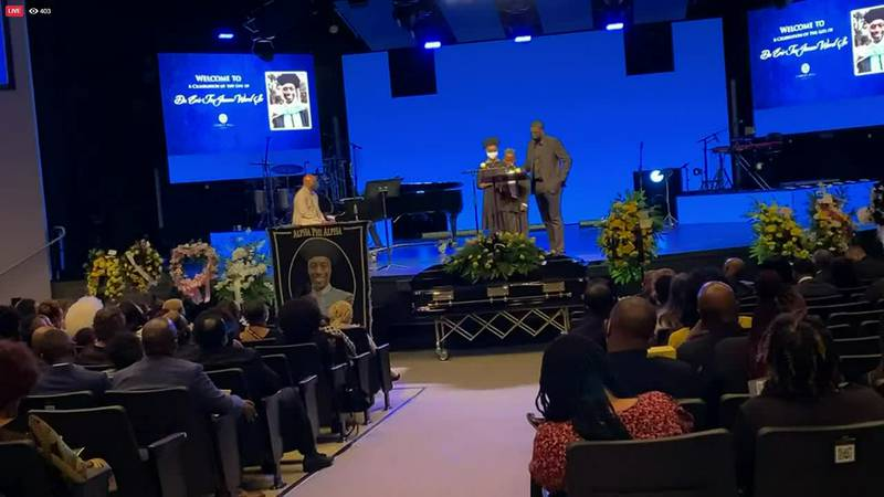 Celebration of Life held to honor the life of late CMS principal Dr. Eric Ward