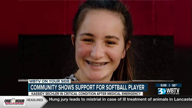 Good news for Rowan County softball player in hospital
