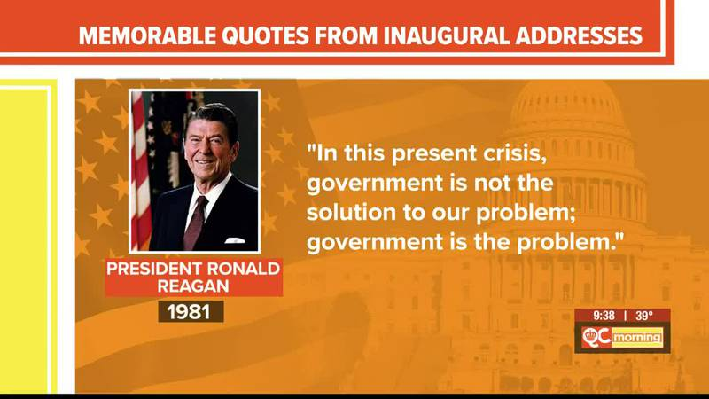 Mr. Russell's Classroom: A look back at past inaugurations
