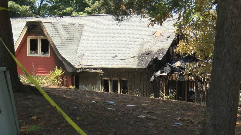 The York County Deputy Fire Marshal says the house fire in Tega Cay was ruled accidental.