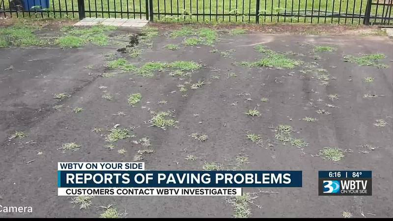 Paving Problems: WBTV viewers reach out after a couple of paving companies left them out...