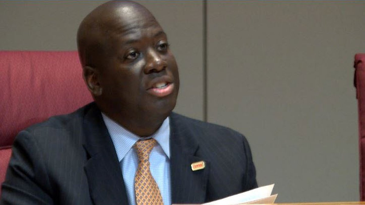 CMS Superintendent Earnest Winston was sent a letter from the public health director that had...