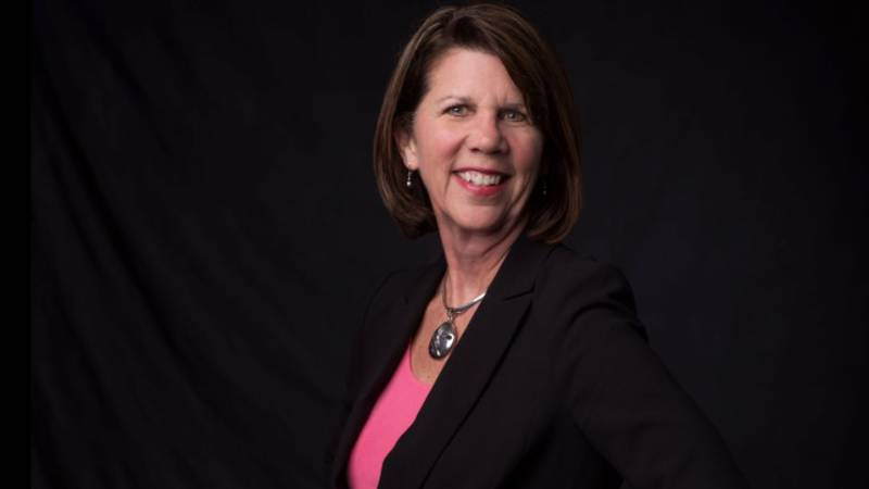 This year's Parade Marshal is Noelle Rhodes Scott, President and CEO of the Cabarrus Arts...