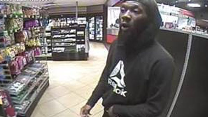 A man is being sought in a robbery at a Gastonia convenience store