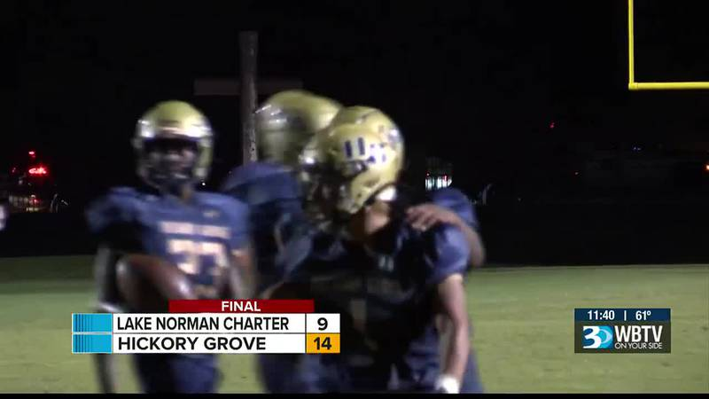 Hickory Grove and Lake Norman Charter met in a battle of unbeatens, but it's the Lions who...