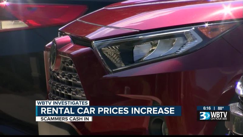 Rental car prices increase, and scammers cash in