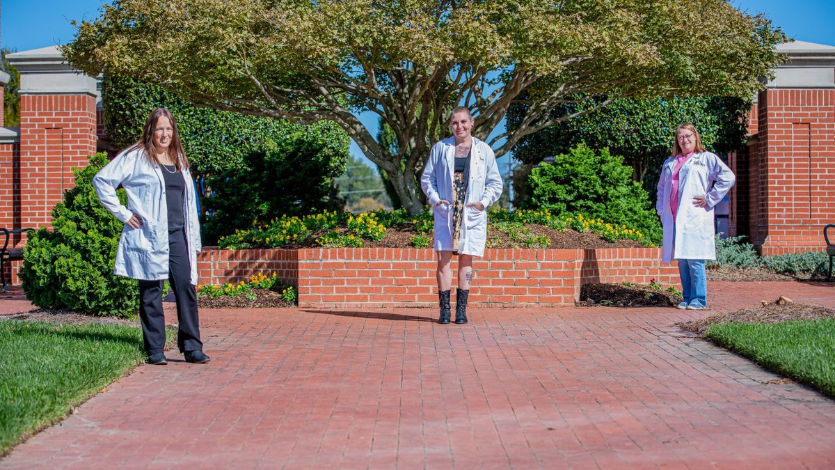 Joyce Edwards, Jessica Everhart, and Lorie Beale are research technicians at NC State's Plants...