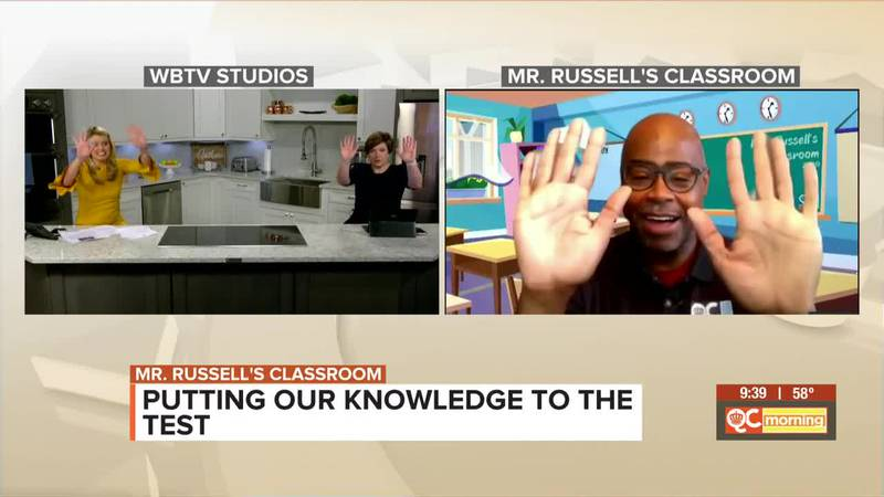 Mr. Russell's Classroom: High Fives All Around