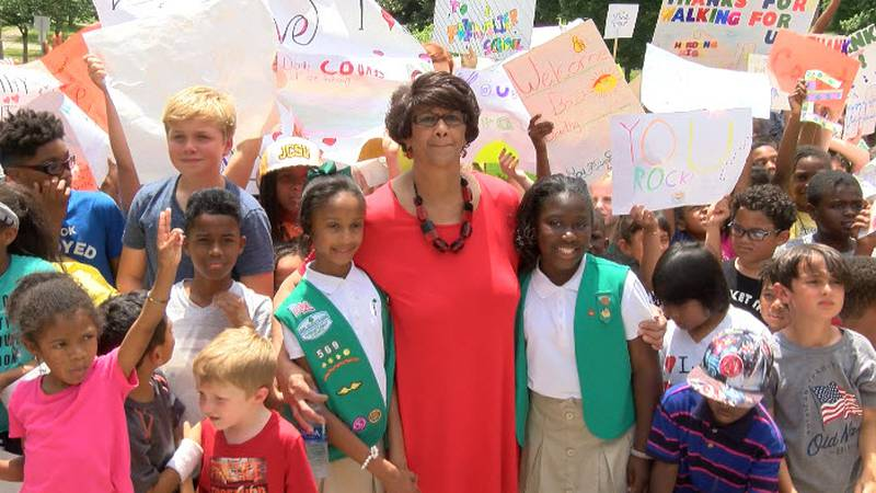 Because of her race and the challenge to integrate Charlotte schools, a 15-year-old Dorothy...