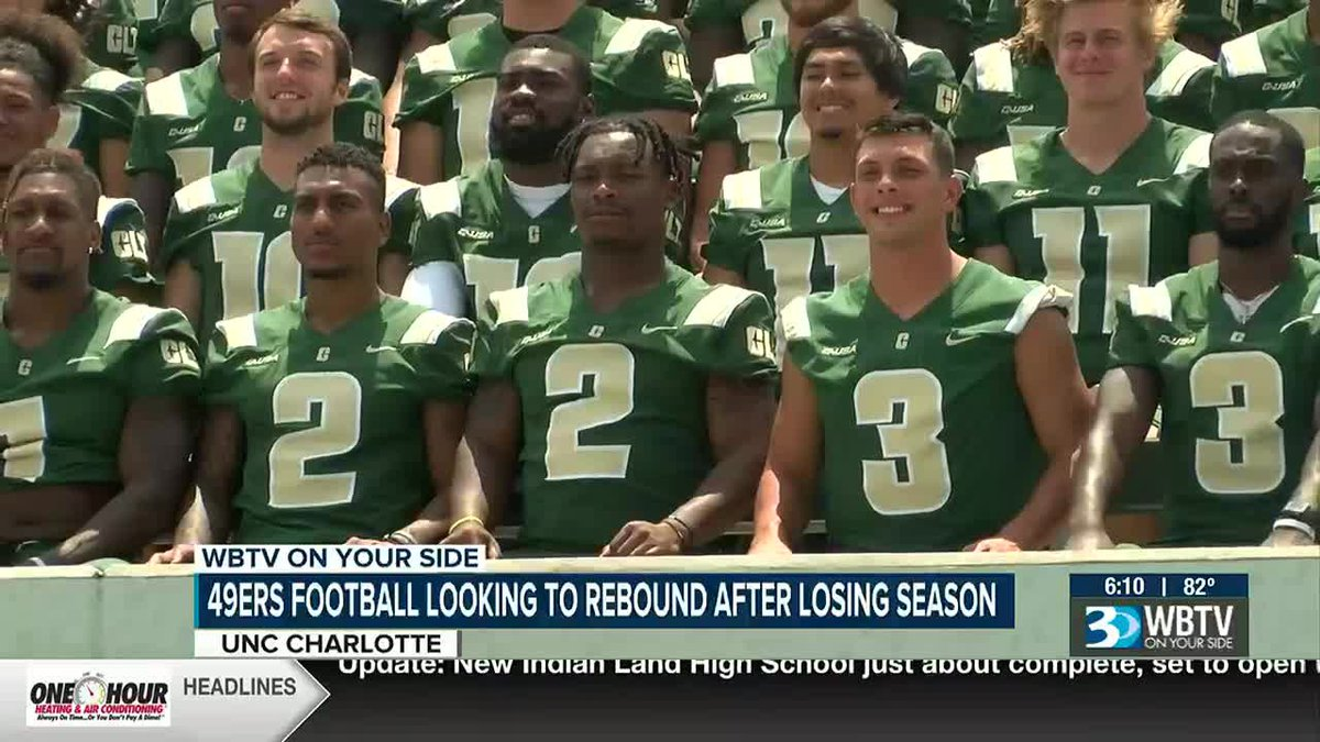 Charlotte 49ers football ready to put 2020 in the rear view mirror and get back to Club Lit