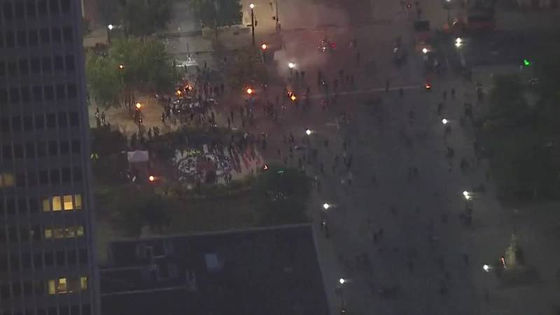 Protests erupt after jury decision in Taylor case