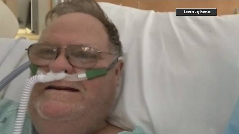 In his final days, Gary Avery's family had to communicate with him over FaceTime, due to...