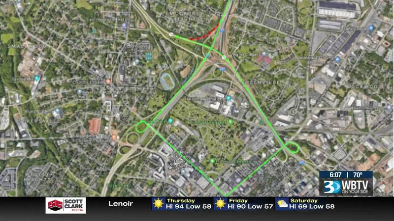 Exit 11B on I-77 to close for months as noise wall installation gets underway