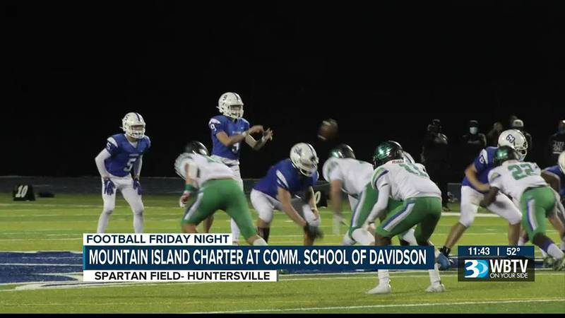 Big Catawba Shores Conference win for Community School of Davidson as they defeated Mountain...