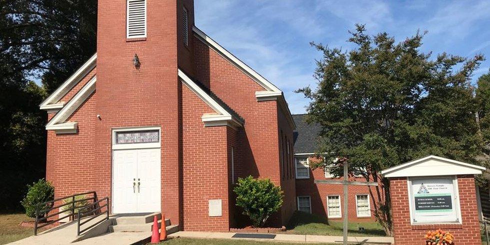 Davidson church vandalism