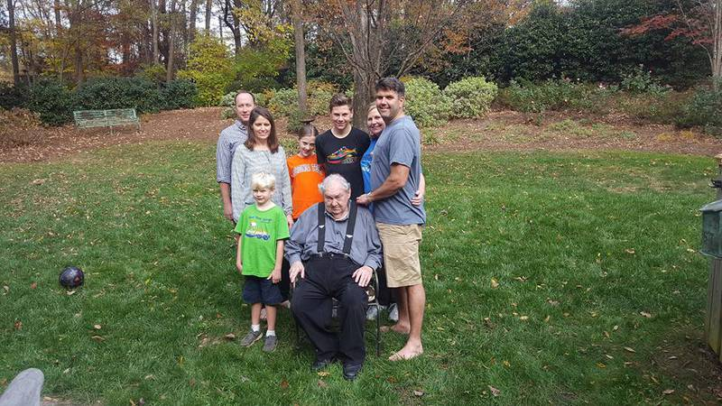 Family gathers with McCord who would later die of coronavirus