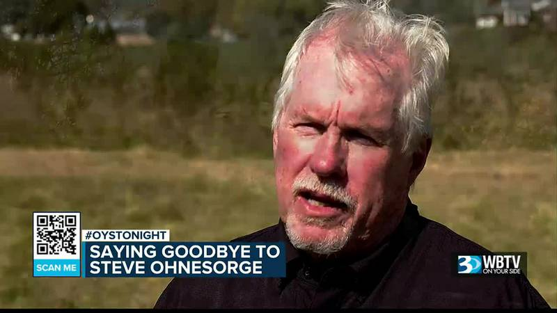 Saying goodbye to WBTV's Steve Ohnesorge after 45 years