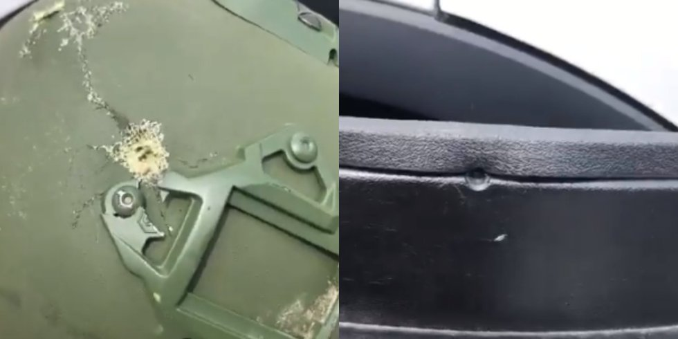 There were actually two items that saved the Boone Police officer's life. A shield blocked one...