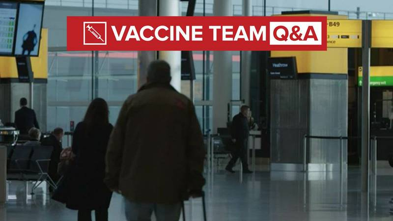 VACCINE TEAM: Will the federal government mandate vaccine passports?