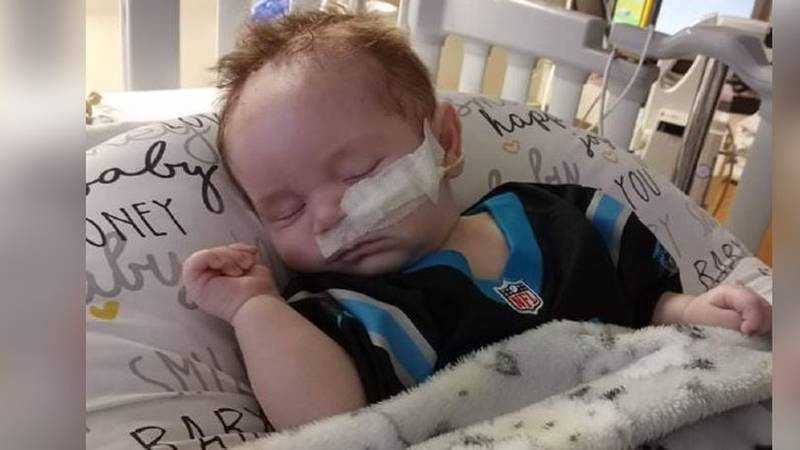 Local community by Taylorsville family side as 2-month-old fights for his life in hospital