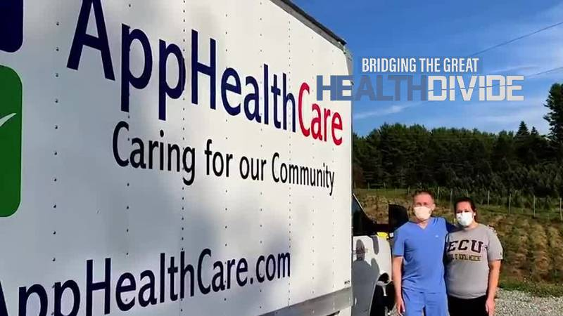 AppHealthCare actually has a completely portable dentist's office in Ashe County.