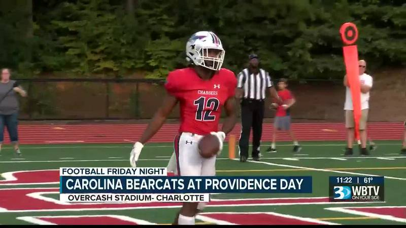 Providence Day picks up their first win of the season as they beat the Carolina Bearcats 53-0.