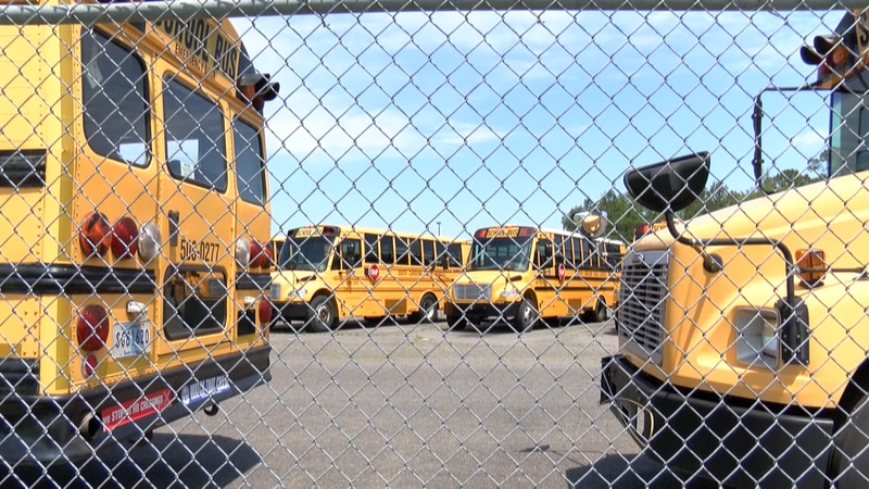 The school bus requirement was dropped after the budget proviso passed.